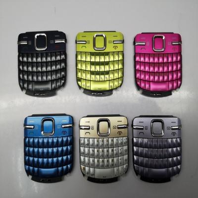 plastic-rubber mobile phone keys