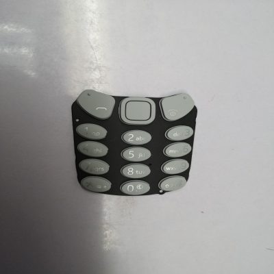 plastic-rubber mobile phone keys