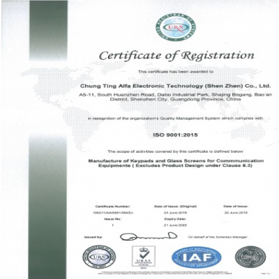 ISO9001-2015 ISO認証証明書20190624