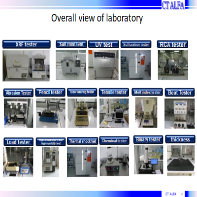 Overall view of laboratory